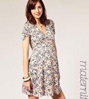 Asos maternity printed tea Dress £35