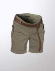 Crave Maternity - Olive Pull on Shorts by Noppies
