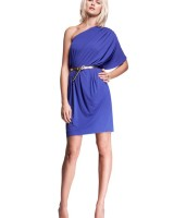 Isabella Oliver - Draped Asymmetrical Dress - sml