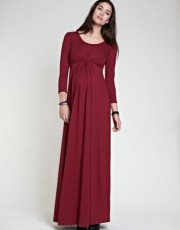 Isabella Oliver Grecian Maxi Dress