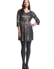 Isabella Oliver Sequin Tunic dress