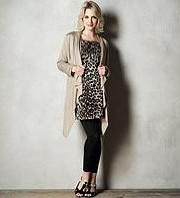M&S - Maternity Long Sleeve Waterfall Knitted Cardigan