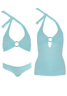 Melissa Odabash - EXCLUSIVE 3-PIECE BIKINI TANKINI SET