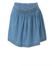 Mothercare - Maternity Chambray Gathered Skirt