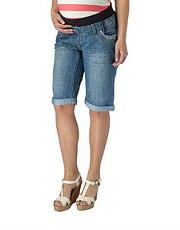 New Look - Matenity Denim Pregnancy Shorts