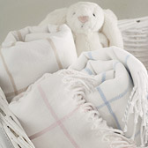 The White Company - Woven Check Blanket