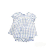 The white company Gingham Blouse & Bloomer