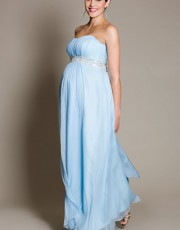 Tiffany Rose - BlueBell Gown with Diamante Sash