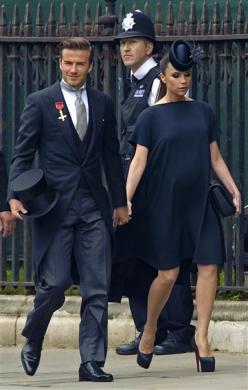 Victoria Beckham royal wedding maternity dress Pregnancy clothing fashion maternity dresses maternity wear UK