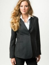 Crave Maternity - City Grey Button Front Jacket
