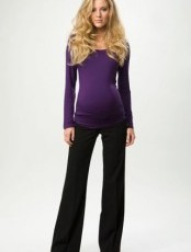 Crave Maternity - Neo Black Pull on Trouser
