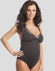 Figleaves - Pez Dor Love Boat Maternity Sequin Strap Swimsuit