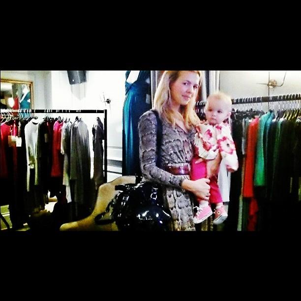 Myself @Annabella with all the gorgeous Vanessa Knox collection