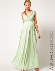 Asos maternity maxi dress with Grecian detail £45