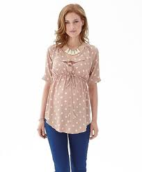 Mamas and Papas spot print top £32