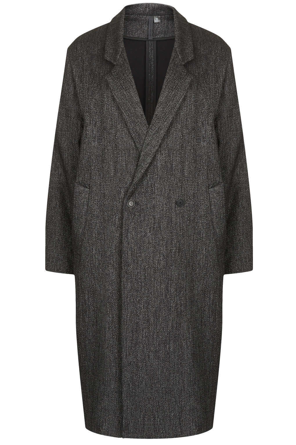Charcola-tweed-long-max-Unique-£180