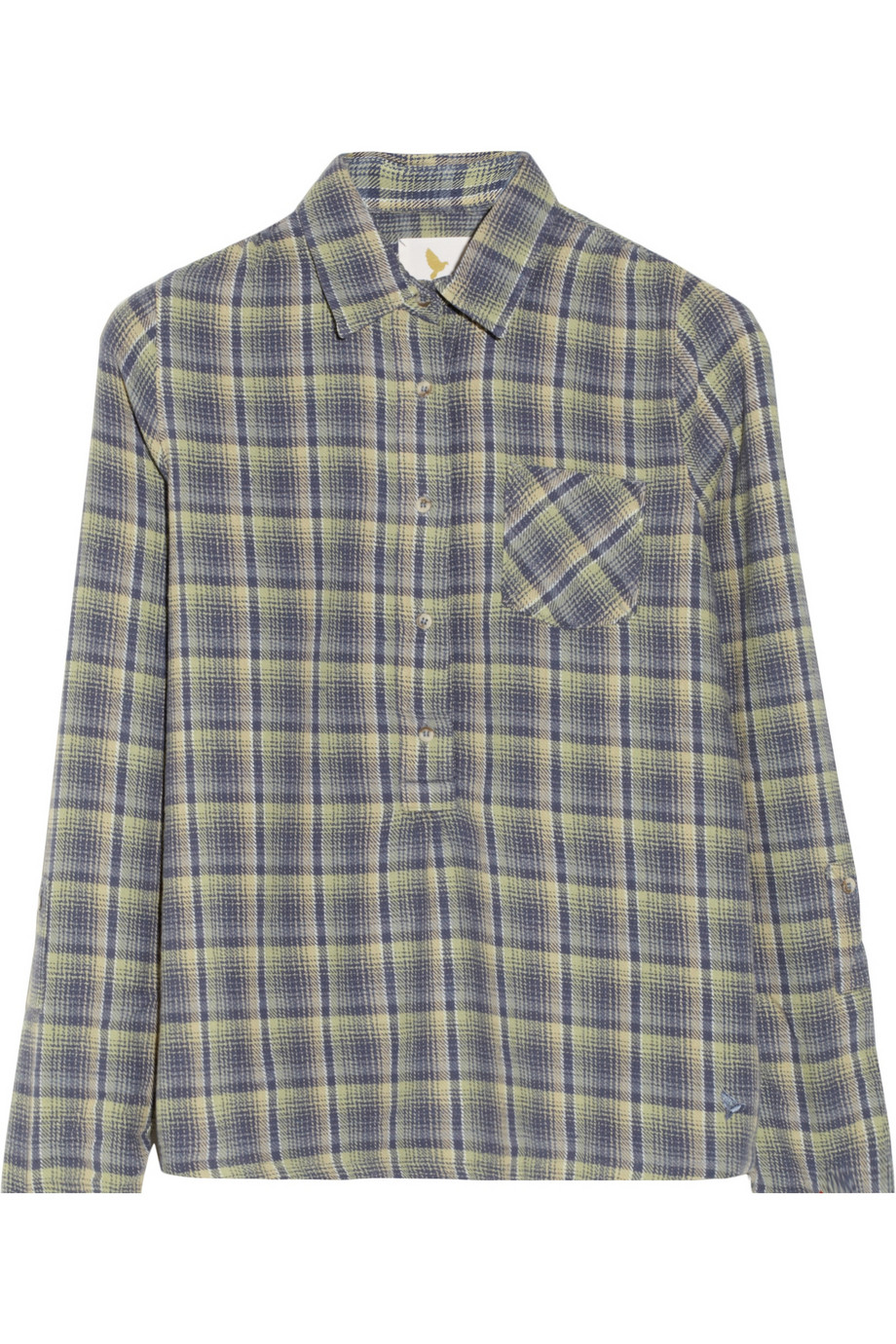 MIH jeans paid cotton pull on shirt £80