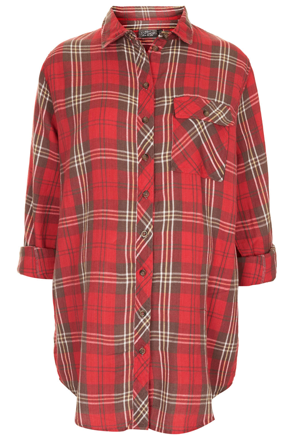 Topshop check shirt