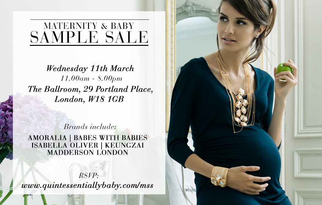 Sample sale - invitation